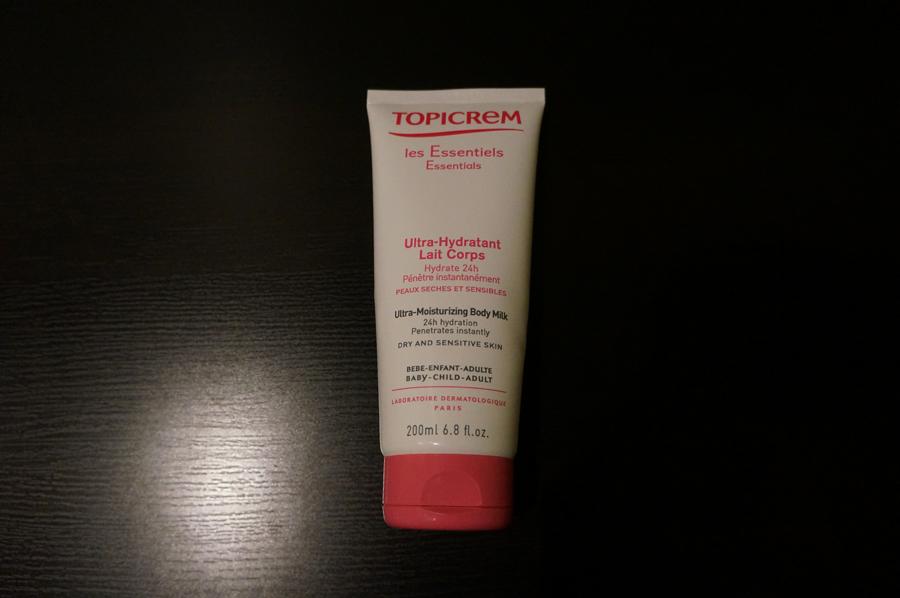 Topicrem lait corps ultra hydratant