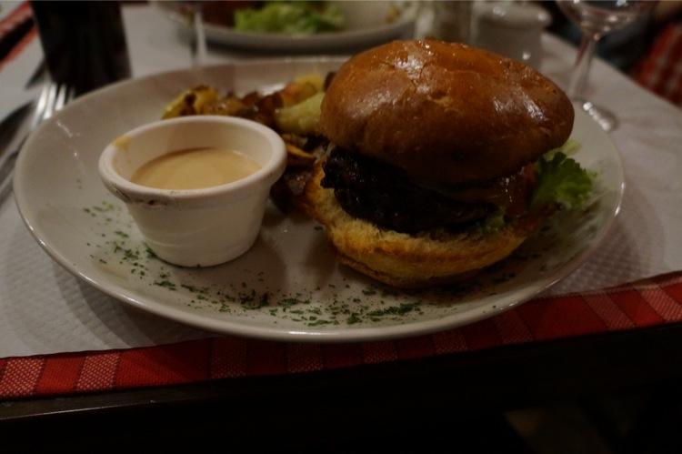 Bar des Varietes passage panorama paris burger avis