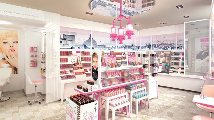 Boutique Bourjois Paris