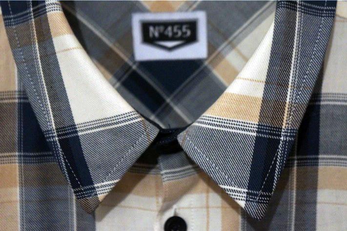 Chemise carreaux numéro 455