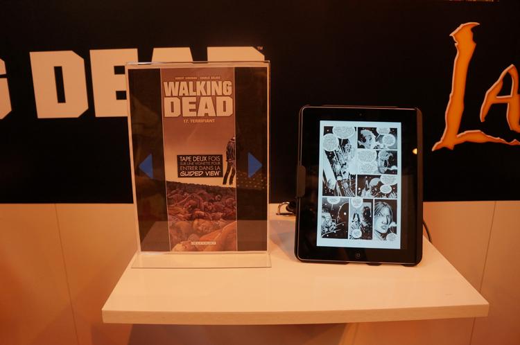 Découverte Walking Ded numérique Salon du Livre 2013