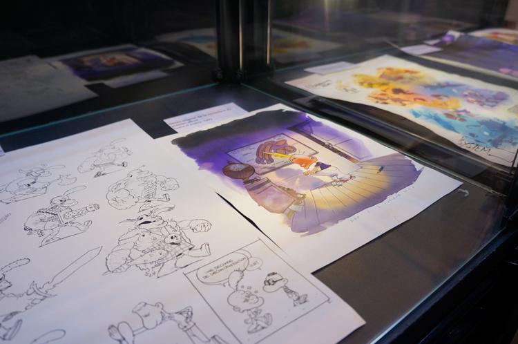 Expo Titeuf 20 ans - Salon du livre 2013
