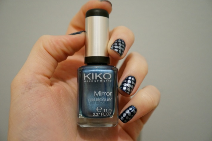Stamping mirror blue kiko 623 China blue 265