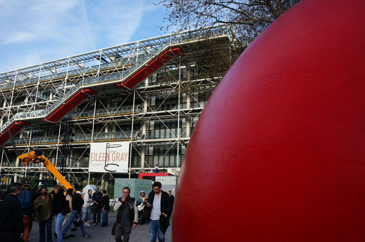 redball project Kurt Perschke paris 2013