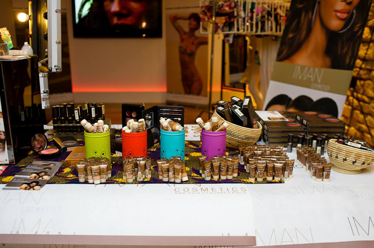 Iman Cosmetics Poulette Party