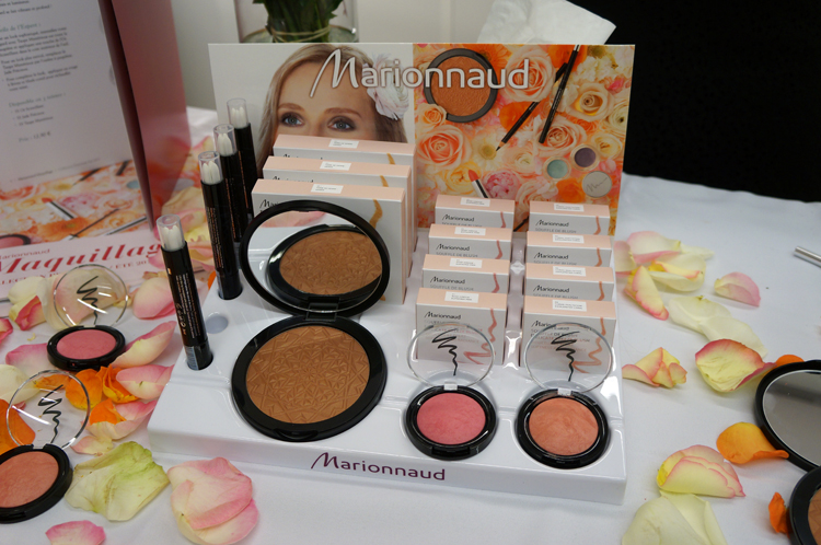Marionnaud gamme maquillage printemps été 2013 avis test