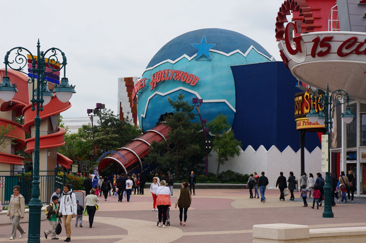 Planet Hollywood Disney Paris avis