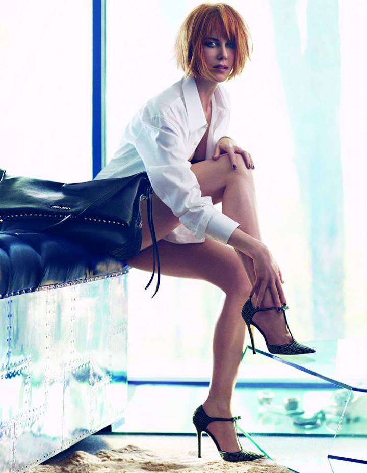Jimmy Choo Nicole Kidman - Autumn-Winter 2013 - Mikael Jansson