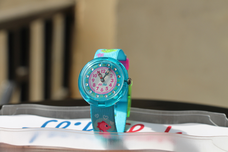 Montre Flik Flak Cute Size Funny Hours Girly underwater party