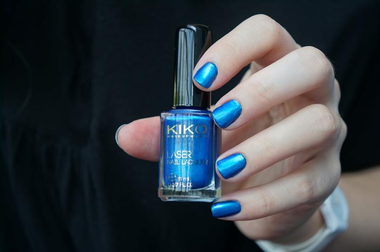 Kiko 434 Psychedelic Blue test swatch avis - Dark Heroine