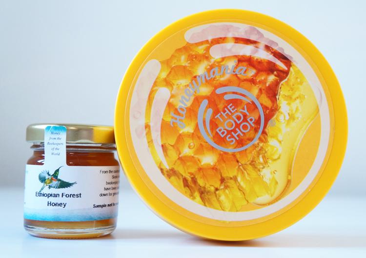 Honeymania gamme miel the body shop test avis beurre corporel