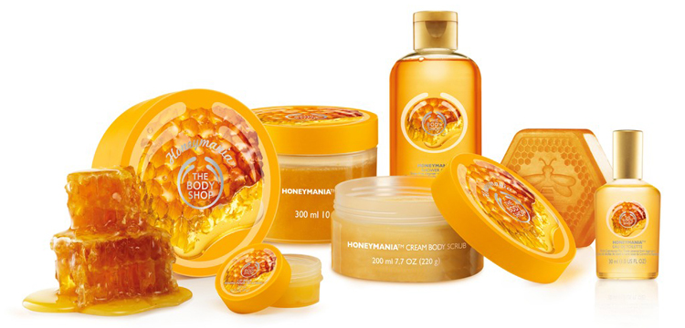 Honeymania gamme miel the body shop test avis