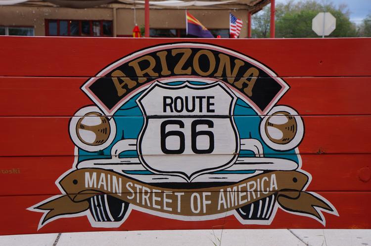 Route 66 Arizona Grand Canyon USA Etats Unis
