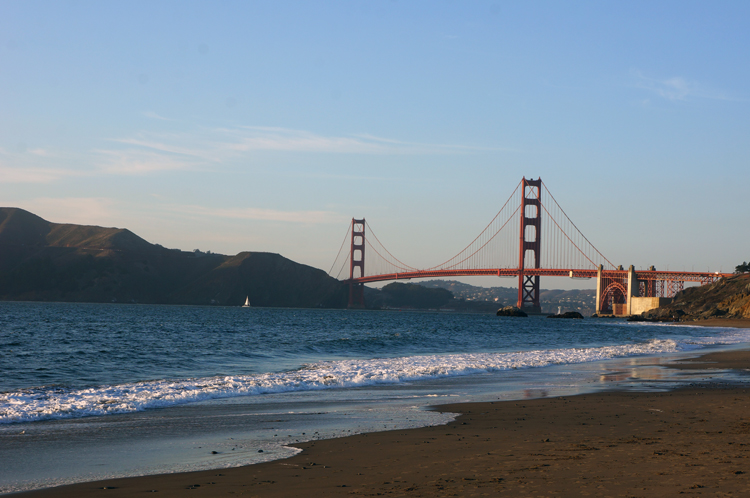 Golden Gate Bridge SF