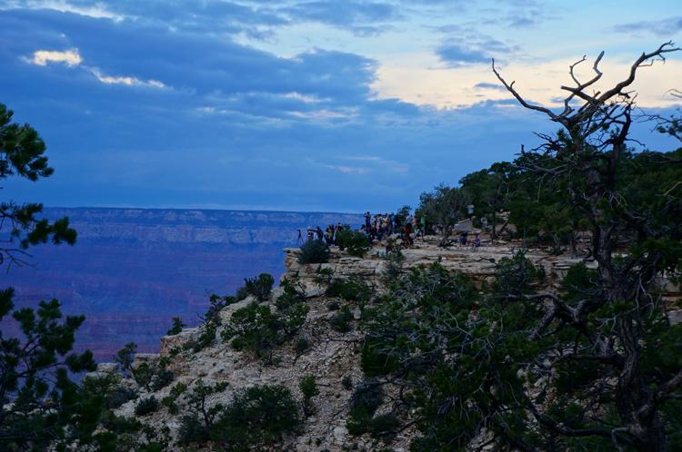 Yavapai Grand Canyon National Park Sunset USA Etats Unis