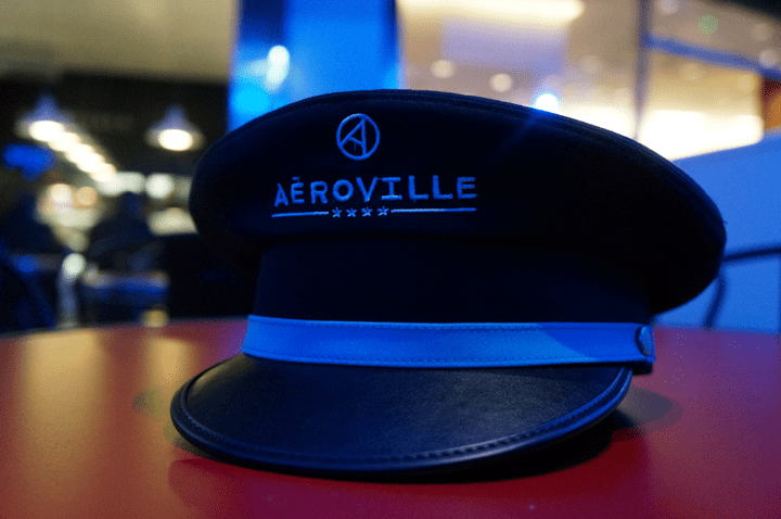 Aeroville centre commercial Tremblay - Inauguration