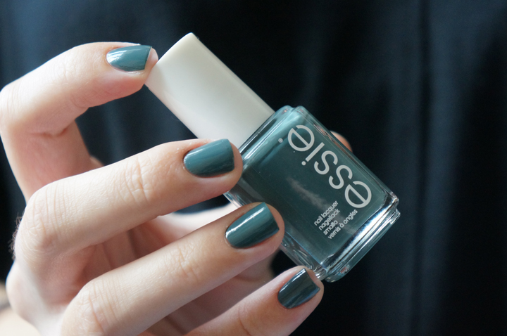 Essie vested interest swatch for the twill of it collection fall 2013