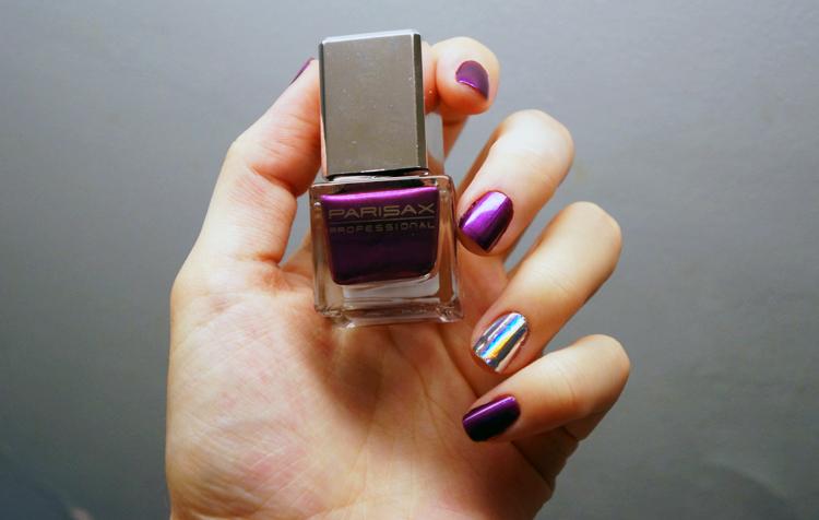 Foil Nail Art ongles Parisax professionel Bohème swatch