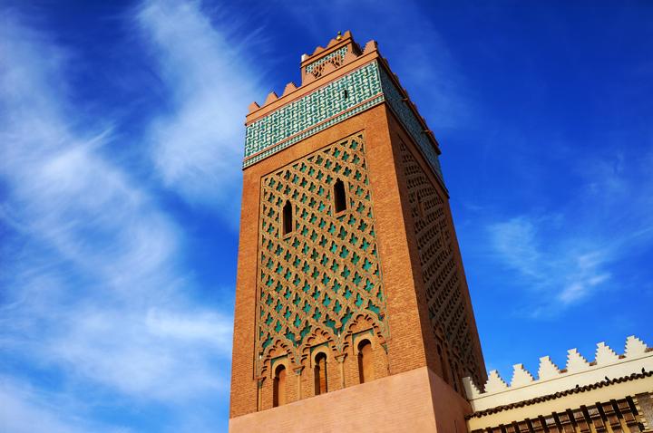 Marrakech Medina Mosquee El Mansour Maroc