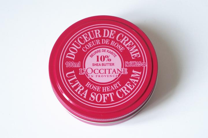 Douceur de crème Karité l'Occitane en provence crème corps