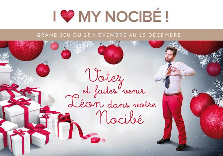 I love Nocibé Noël Léon