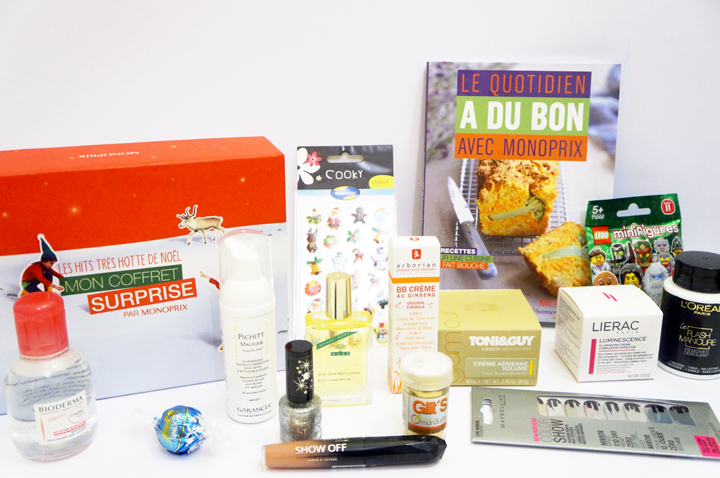 Monoprix Coffret Surprise Noel