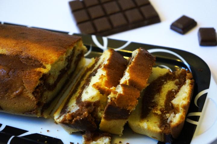 Recettes des 3 soeurs pour petits festins entre amis - Marbré vanille : chocolat