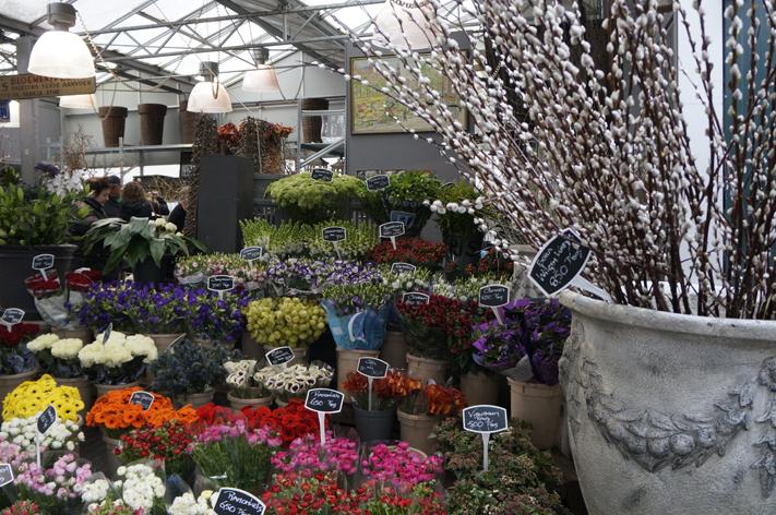 Marché aux fleurs Hollande Pays Bas
