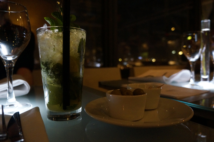 Restaurant Le Georges Paris Costes Beaubourg avis mojito