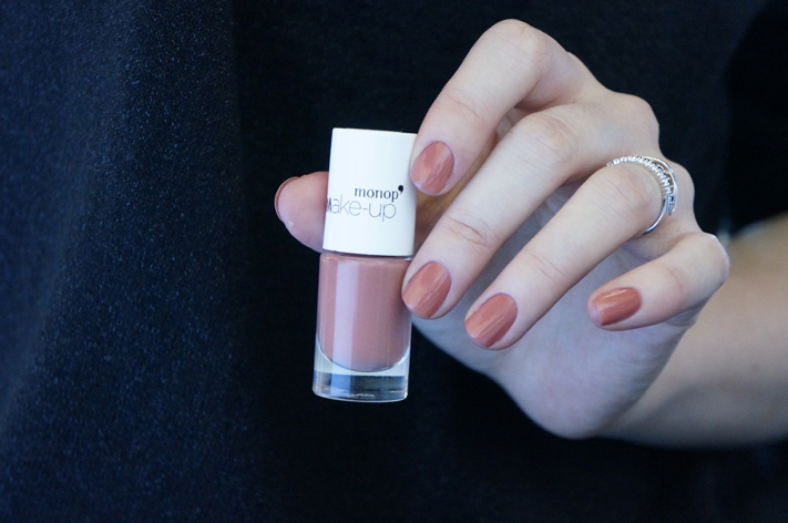 Vernis Monop Make-Up Monoprix avis test swatch Beige Rosé 11