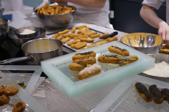 Atelier des sens Paris 10 ans - pâte à choux