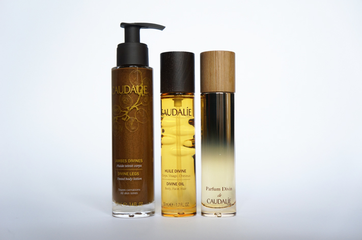 Caudalie Parfum Divin avis test - Jambes divines - Huile divine