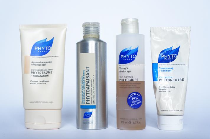 Phyto Paris produits cheveux test avis - Phytobaume - Phytoapaisant - Phytocidre - Phytoneutre
