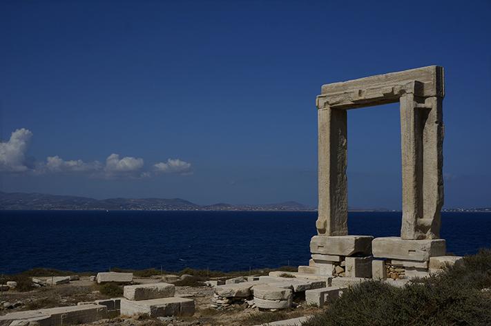 Naxos Grèce voyage avis - porte d'Apollon