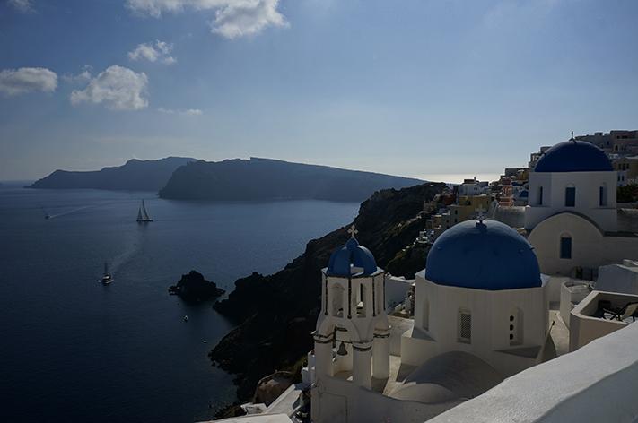 Santorin Santorini Grèce Voyage avis - Oia