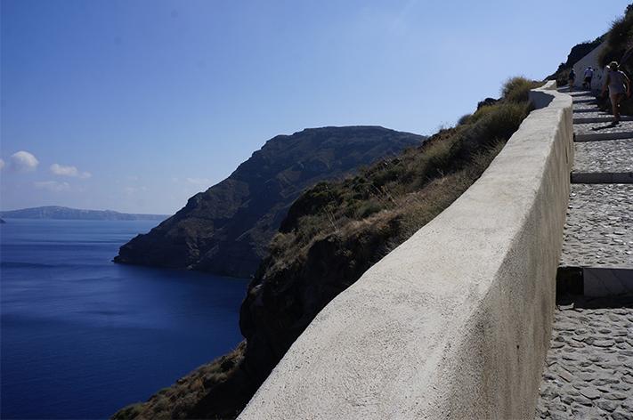 Santorin Santorini Grèce Voyage avis - Thirasia
