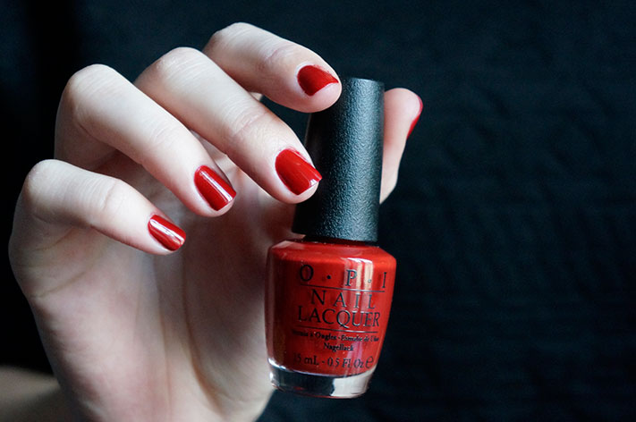 Romantically Involved - OPI Fifty shades of Grey collection swatch