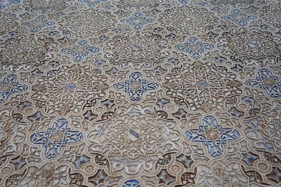 Grenade Granada - Alhambra mosaique 4
