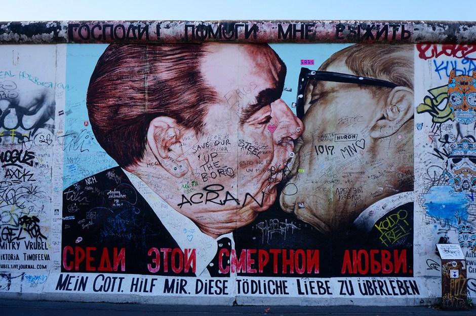 East Side Gallery - mur de Berlin weekend