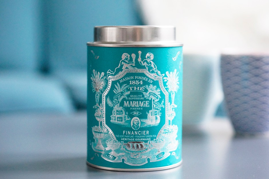 thé vert financier mariage frères Heritage gourmand avis