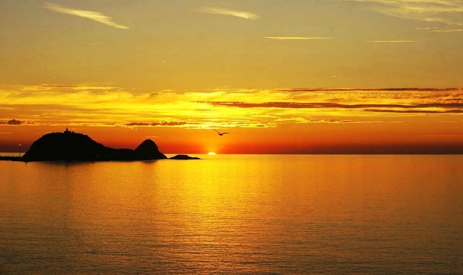 corse ile rousse plage vacances 2016 coucher soleil