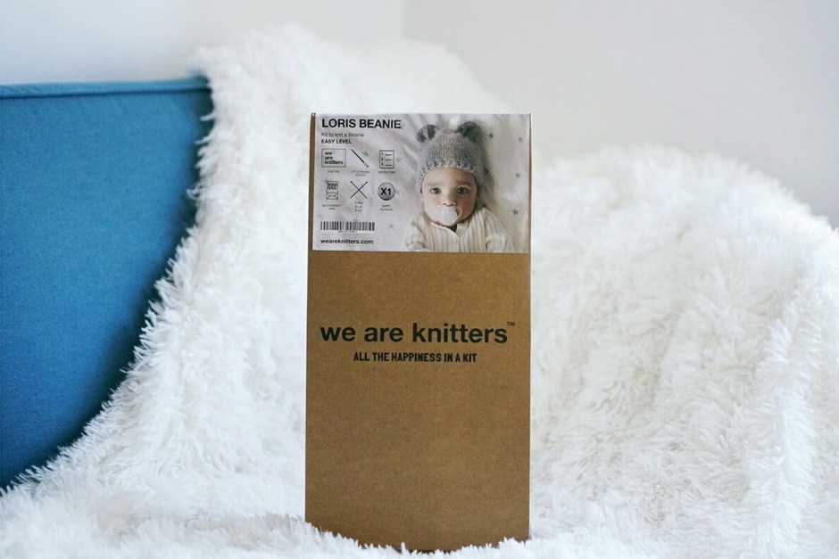Bonnet we are knitters WAK bebe Loris Beanie kit tricot