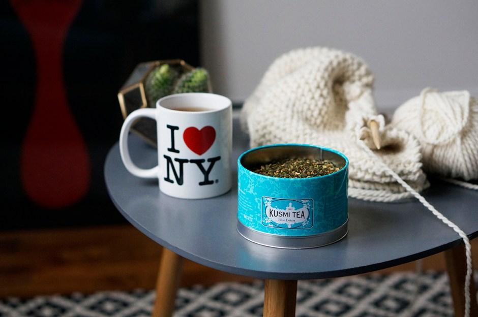 Thé Blue Detox Kusmi Tea test avis