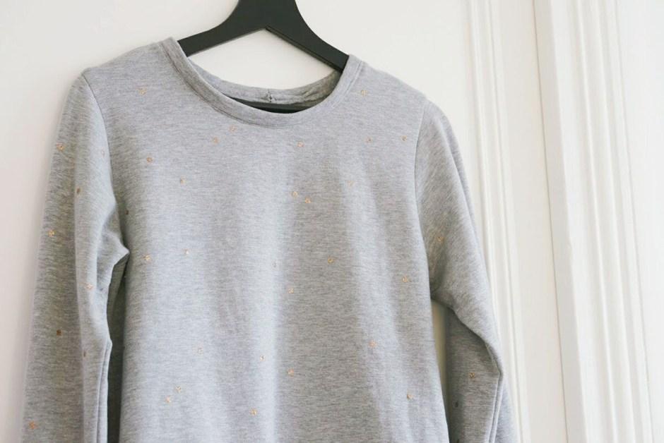 'annee Charlotte Auzou gris paillettes thermocollantes DIY couture 6