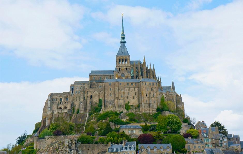 Mont Saint Michel grande maree mere poulard avis sejour 4