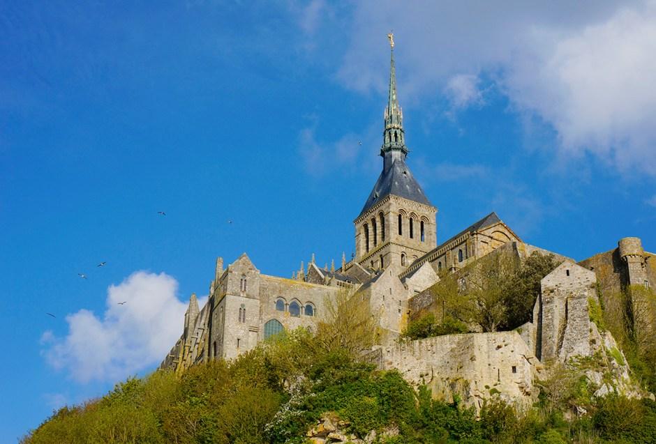 Mont Saint Michel grande maree mere poulard avis sejour baie 6 vue