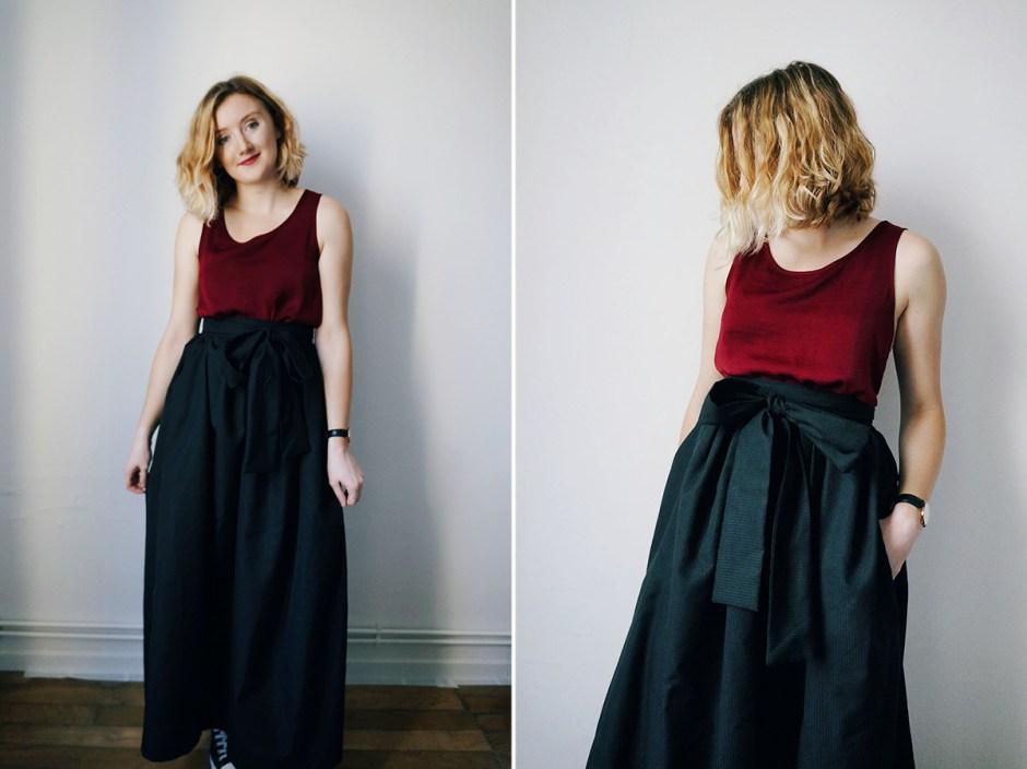 Jupe longue Pastel Blousette Rose patron couture avis