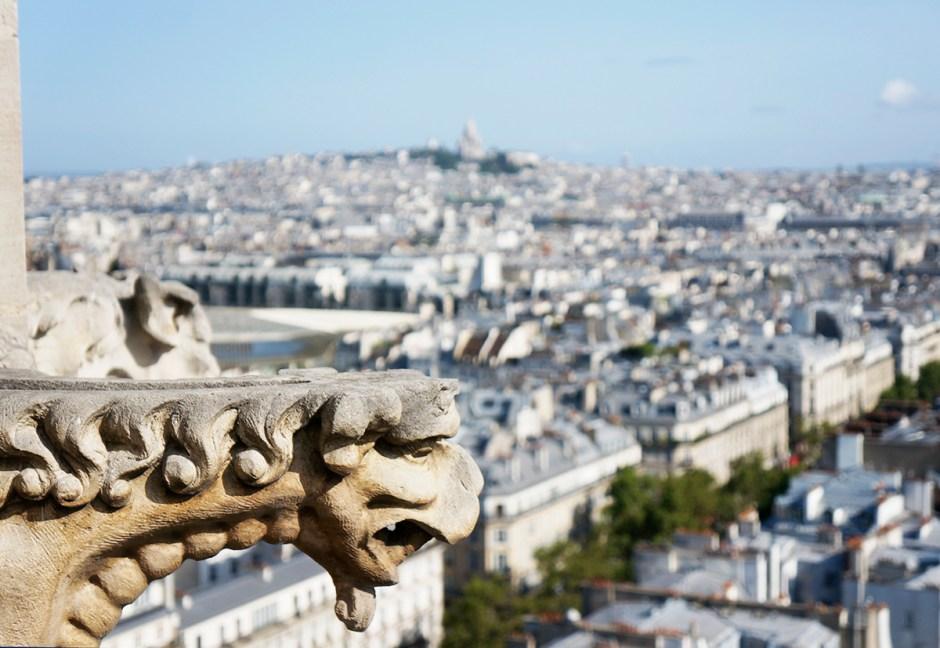 Tour Saint Jacques - panorama terrasse Paris - Montmartre
