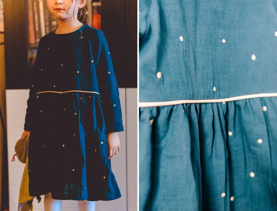 Blouse Robe Mini Marthe - Republique Du Chiffon - avis patron