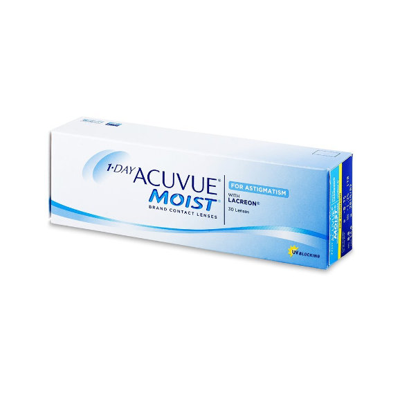 1-Day Acuvue Moist 30/90 unidades